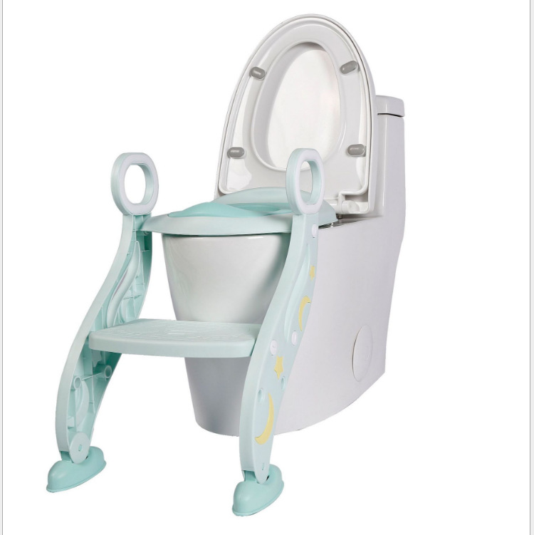Toilet For Kids Baby Auxiliary Chamber Pot Ladder Infants Foldable Chamber Pot Toilet Seat
