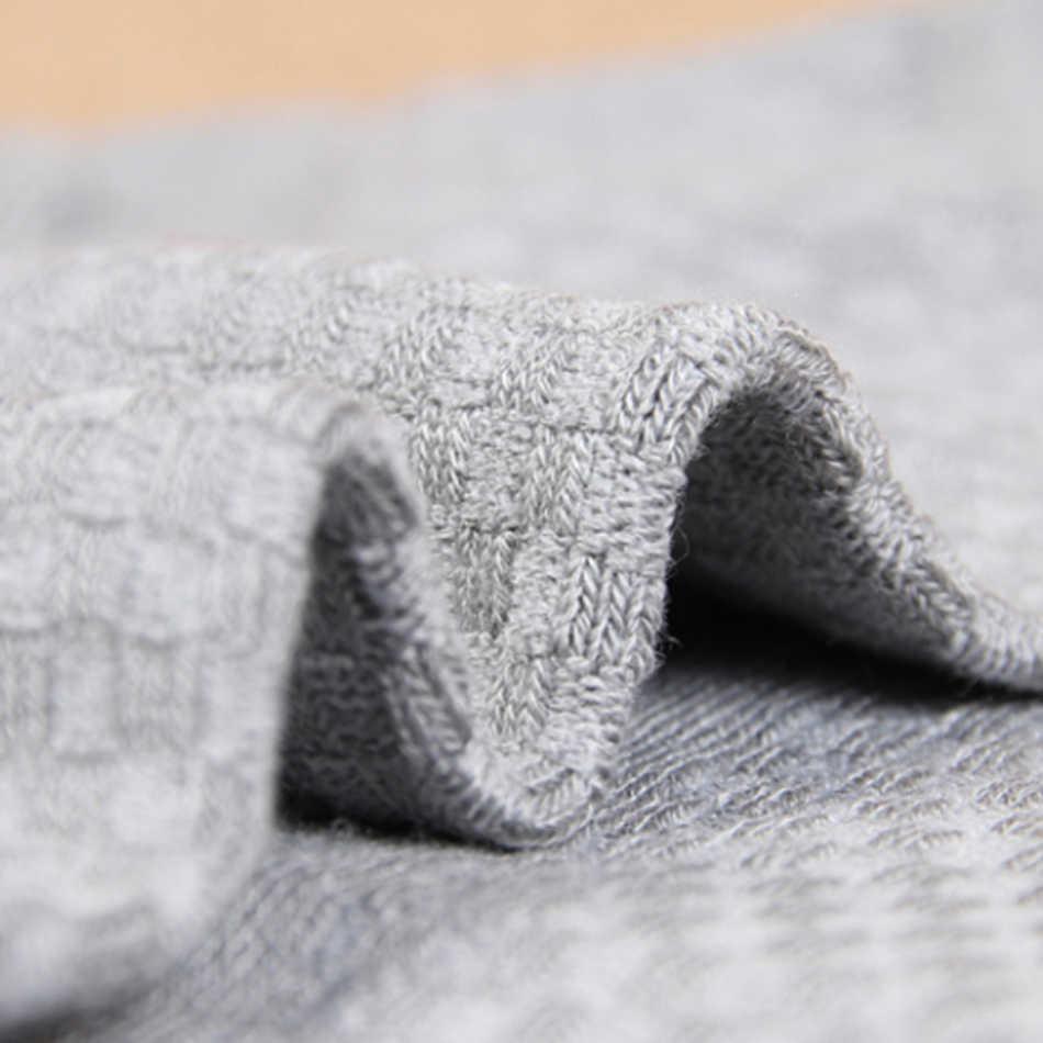 10 Pairs yüksek kaliteli bambu elyaf erkek çorapları İş nefes Deodorant varis çorabı erkekler uzun büyük boy EUR 38-46