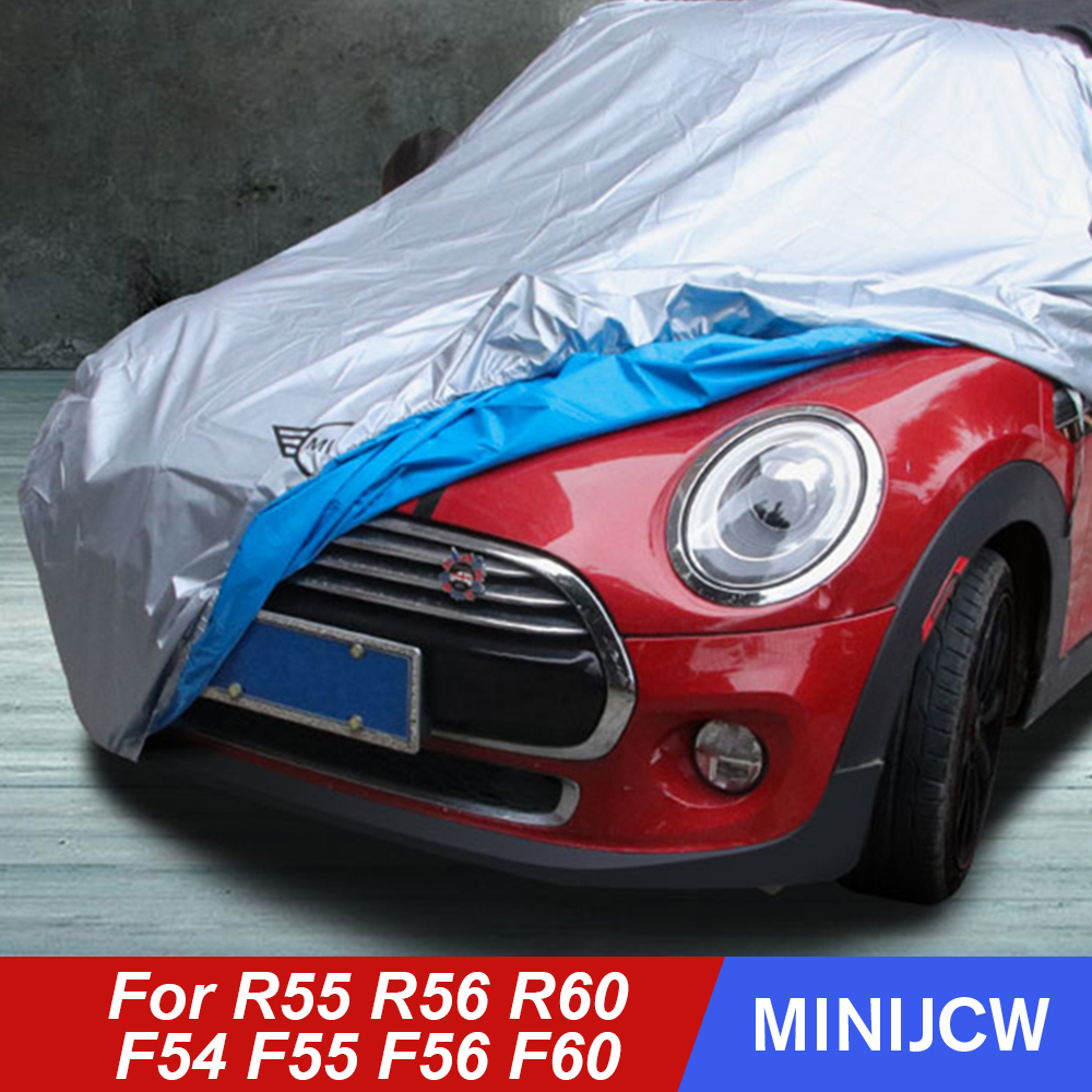 Car Covers Clothes Sunshade Heat Isolate Dustproof For MINI Cooper JCW R55 R56 R60 F54 F55 F56 F60 Hatchback Clubman Countryman|Car Covers| |  - title=