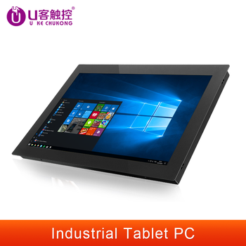 10/12/15/17/19Inch Industrial Tablet pc All-in-one pc with Resistive Touch Screen  for Windows7/10 J1900/Intel i51280*1024 HMI 1