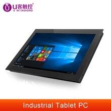Промышленный планшетный ПК 10/12/15/17/19 дюймов, ПК «все в одном» с резистивным сенсорным экраном для Windows 7/10 J1900/Intel i51280 * 1024 HMI