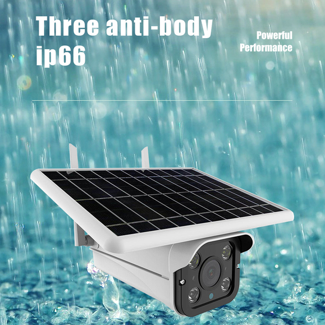 Hebeiros 4G LTE FDD GSM HD 1080P Solar Battery Wireless Outdoor Camera Waterproof Audio 2MP Security Surveillance CCTV IP Camera 5