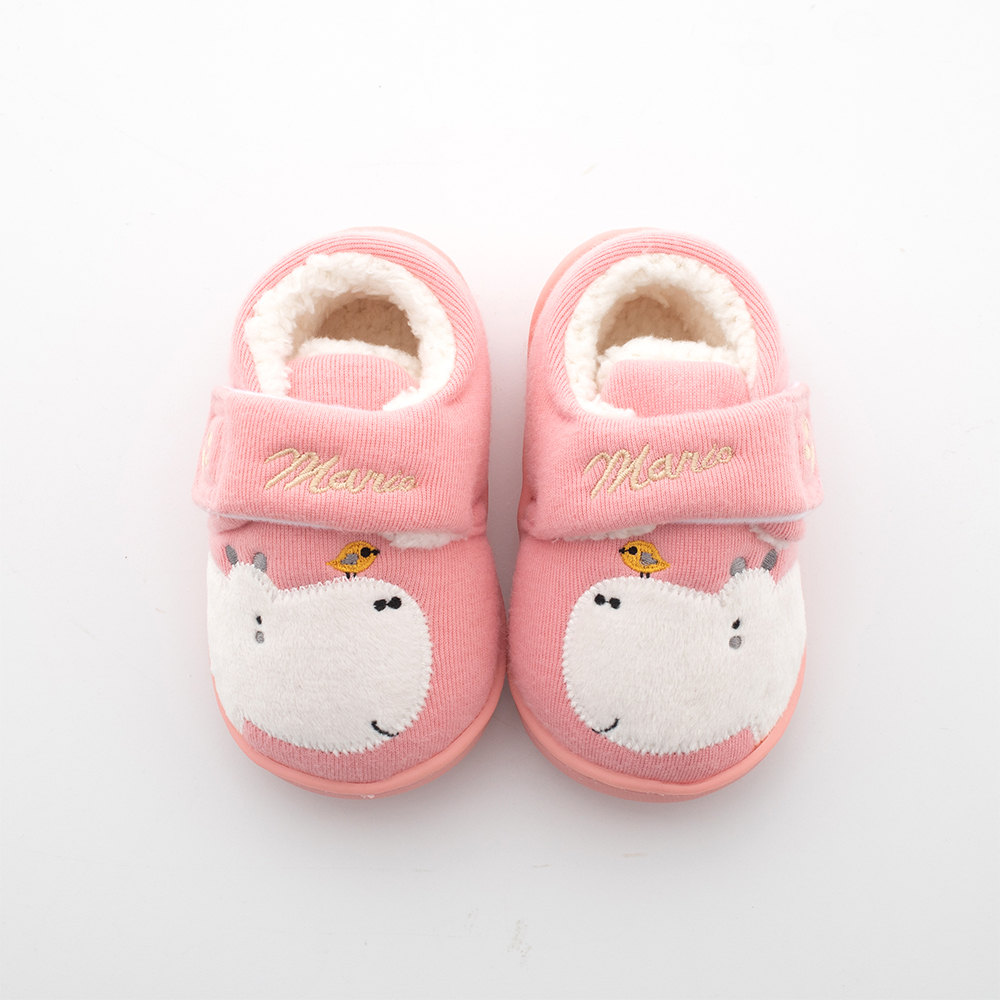 1 от 3 до 6 лет для маленьких мальчиков и девочек; домашние тапочки; домашняя обувь с Детские зимние штаны для малышей; тапочки на