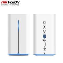 Hikvision hikstorage nas rede de compartilhamento de nuvem privada anexado servidor de armazenamento para suporte doméstico hdd/ssd 2.5 polegada h90