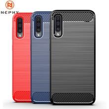 Мягкий чехол из углеродного волокна для Samsung Galaxy A10 A20 A20E A30 A40 A50 A70 S8 S9 S10 Plus Note 8 9 10 Чехол для мобильного телефона противоударный note10 note10plus a305 a307...