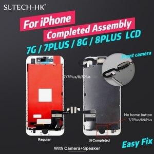 Image 2 - ЖК экран AAA + + для iPhone 6, 6S, 7, 8 Plus, полная сборка, 3D сенсорный экран, сменный дисплей
