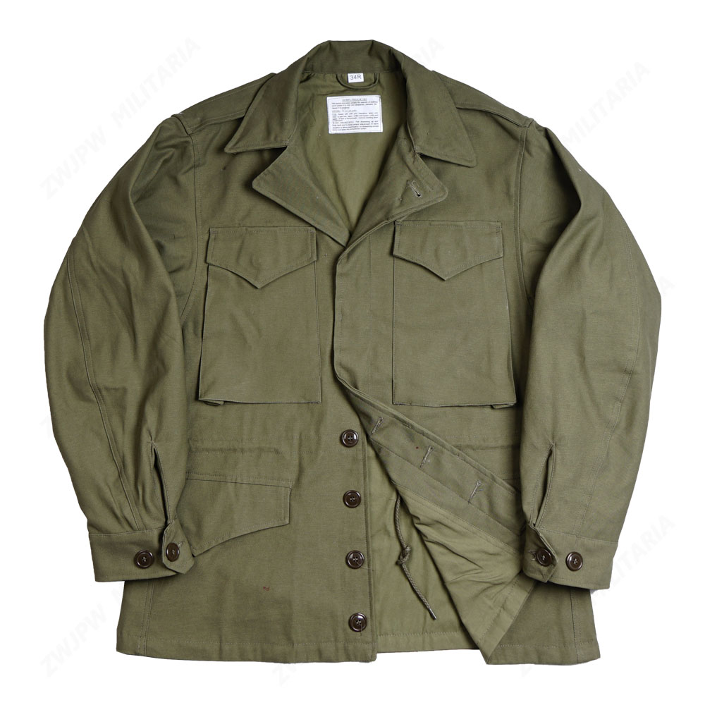 WW2 US MILITARY ARMY GREEN M43 COAT JACKET Outdoor Jacket