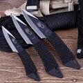 Хит продаж  3 шт.  тактический нож с фиксированным лезвием  карманный нож для выживания  для охоты  кемпинга  ножи  инструменты с оболочкой