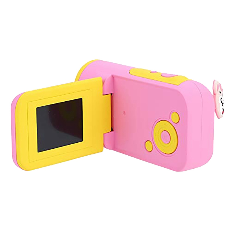 Kids Camera HD 16MP 1.77 Inch LCD Camera Recorder Kids Action Camera Camcorder DV (Pink)