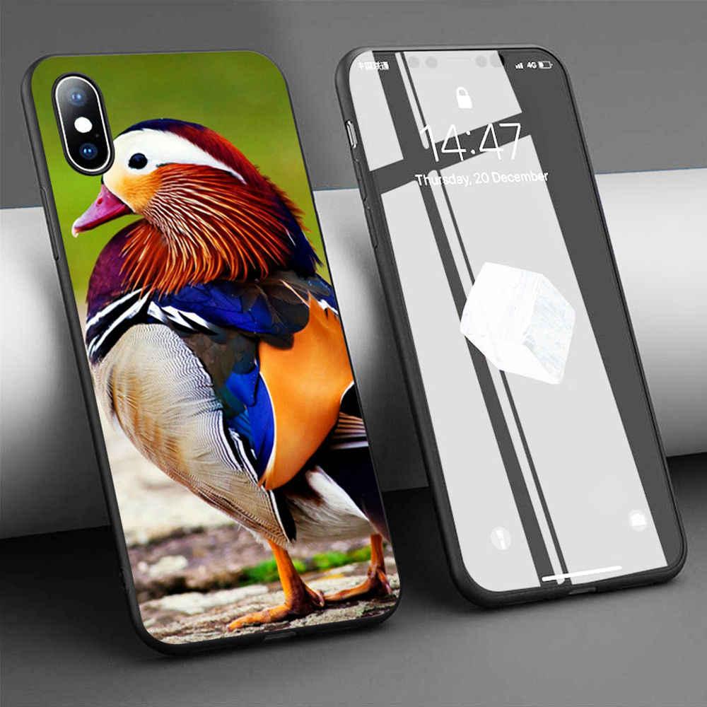 Coque Colorée Oiseau Canard En Silicone Souple pour iPhone 11 Pro ...