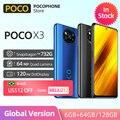В наличии глобальная версия POCO X3 NFC 6 Гб 64 Гб/128 ГБ Snapdragon 732G Смартфон Xiaomi 64MP AI Quad камера 120 Гц 5160 мАч батарея