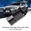 Подлокотник, ящик для хранения для Lexus UX UX200 UX250h 2019 +, органайзер для интерьера, подставка для центральной консоли