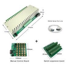 32 + 6CH בית חכם מתג מערכת אוטומציה מודול בקר APP/PC שלט רחוק Alexa Ethernet 250V10A TCP IP ממסר Domotica