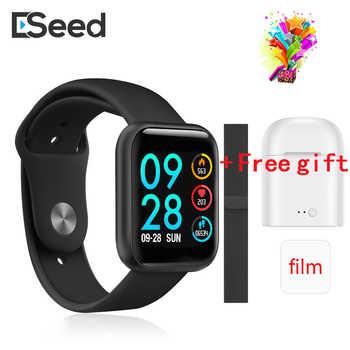 ESEED P80 smart uhr männer frauen IP68 wasserdichte volle touchscreen smartwatch Herz Rate Monitor für samsuang xiaomi huawei uhr