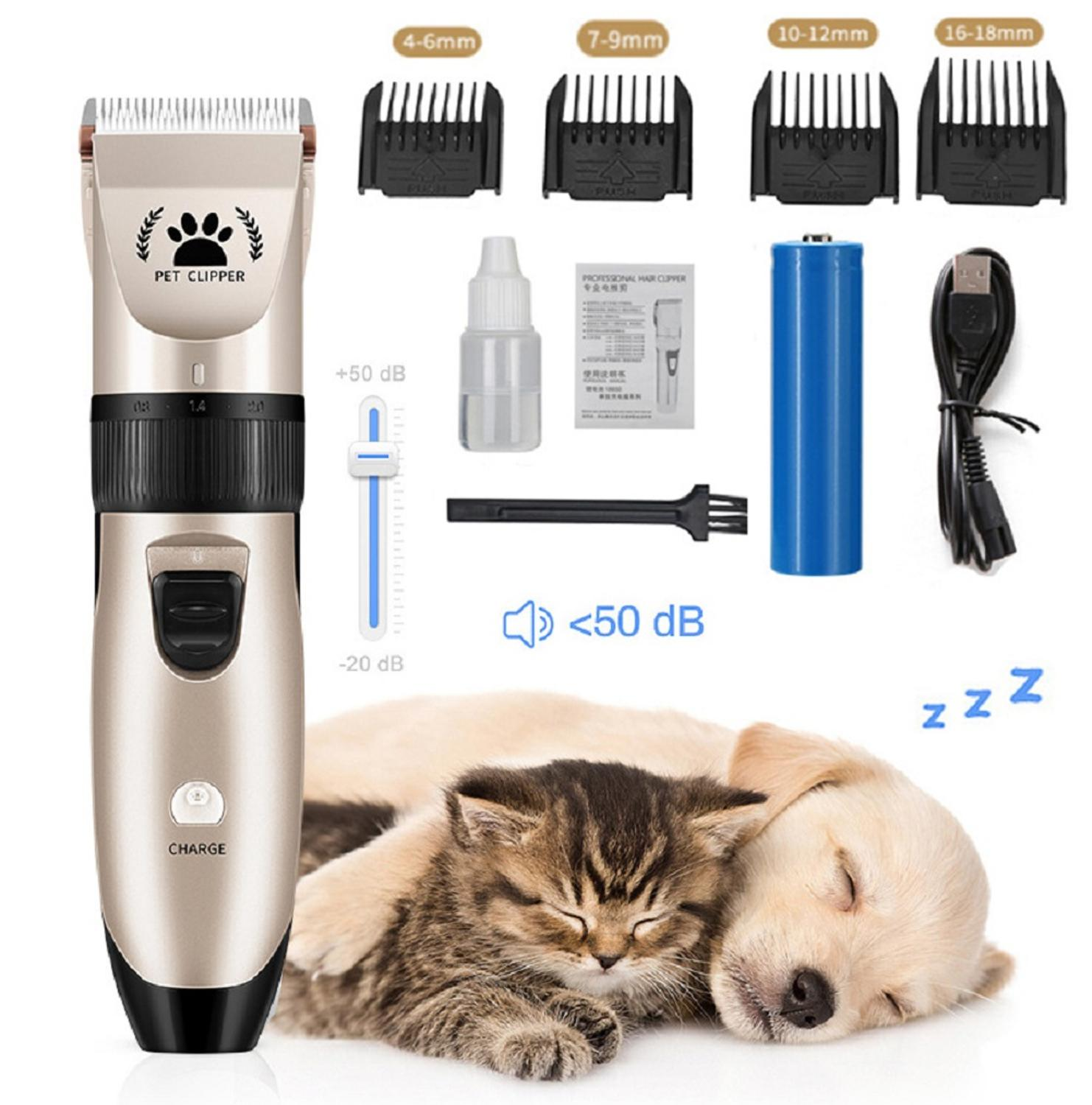 Professional Pet Dog Hair Trimmer Animal Grooming Clippers Cutter Machine Shaver Electric Scissor Clipper Golarka dla zwierzt