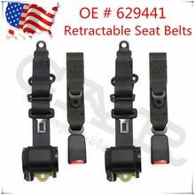 629441 Shoulder 3 Point Seat Belt Retractable for Jeep CJ YJ Wrangler Safety Belt