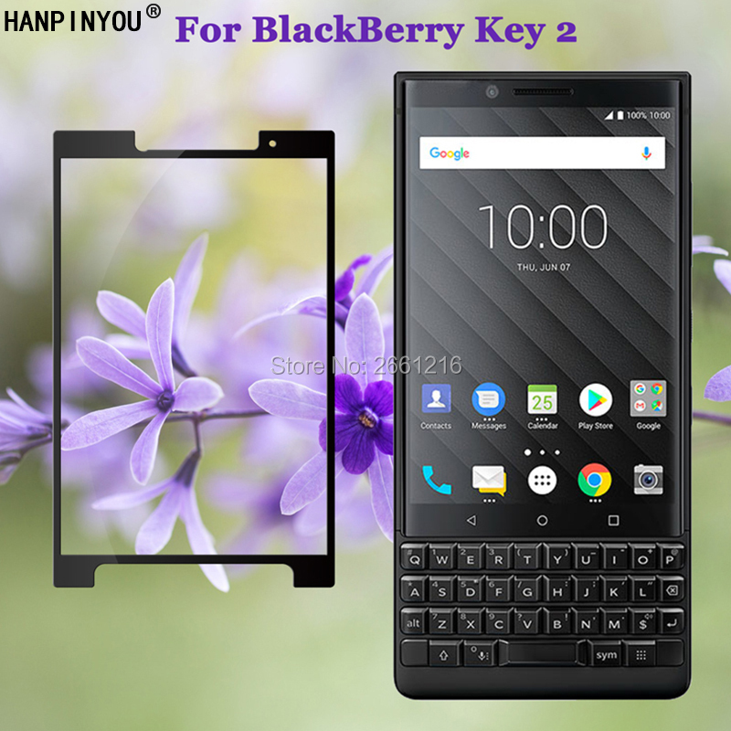 "For BlackBerry Key 2 Two Key2 KEYtwo / Athena 4.5"" Full Coverage Tempered Glass 9H 2.5D Premium Screen Protector Film(China)"