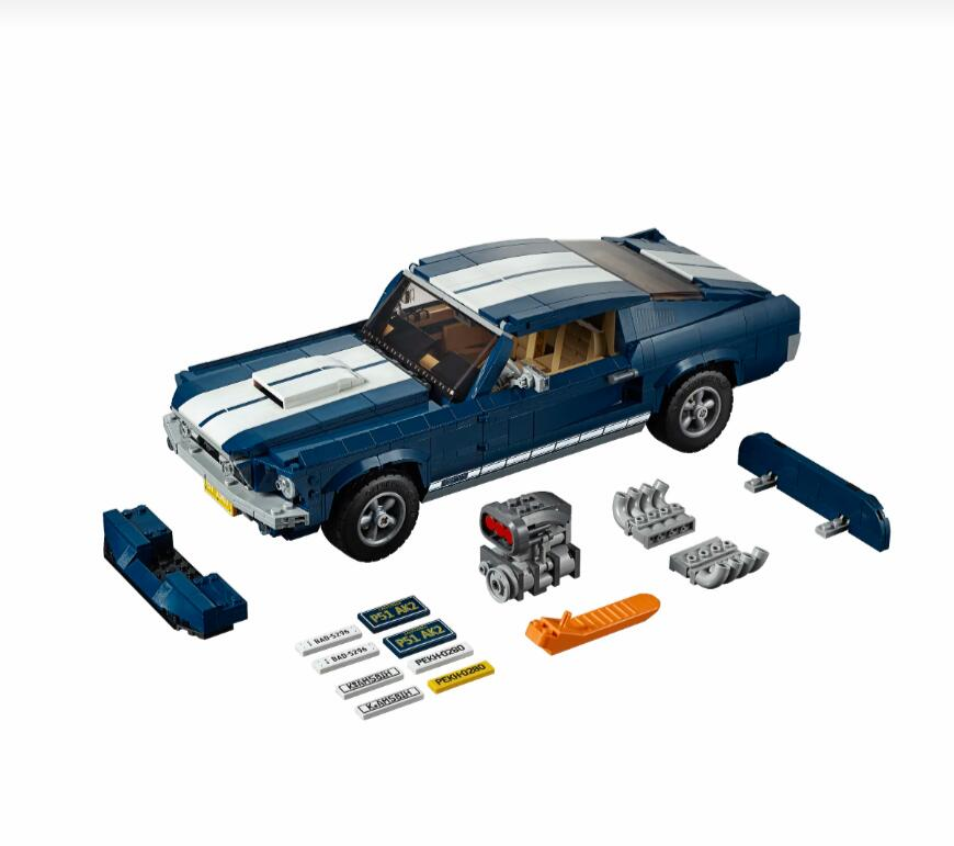 NEW Creactor 21047 Ford 1967 Model Building-Blocks Bricks Toys Compatible With Lepinblock 10265 Gifts For Children