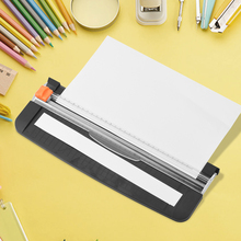 Plastic Precision Paper Cutter Universal Photo Trimmer Cutting Mat Machine Office School Supplies for A4 Scrapbook