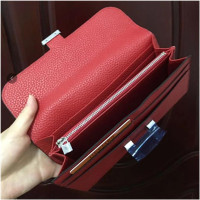 New Women Long Wallet Classic Card Holder Lady Purses and Wallets cartera mujer money bag genuine leather purse Hot Sale
