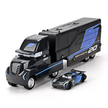 Alloy Inertial Return Container Truck for Childrens Toys Die Casting Transport Vehicle Kit Gift Model Vehicles