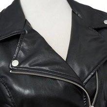 Алиэкспресс Лидер продаж пальто Европа и Америка приталенная Короткая кожаная куртка из искусственной кожи на молнии кожаная куртка