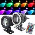 10 Вт RGB подводный светодиодный светильник  водонепроницаемый точечный светильник  ландшафтный светильник  фонтан  лампа для бассейна  декор...
