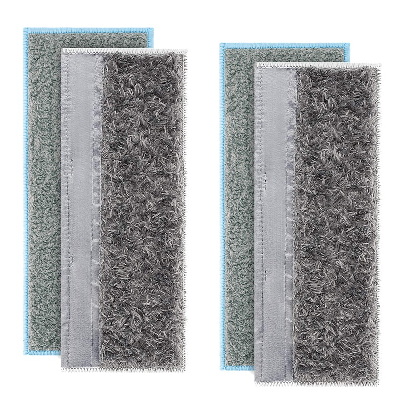 2 Wet Pads+ 2 Dry Pads Replacement Parts for IRobot Braava Jet M6 Washable Pads Multi Pack|Vacuum Cleaner Parts| |  - title=