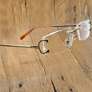Clear Eye Glasses Frames for Men Women Carter Designer Glasses Frame Fashion Transparent Computer Accessories Optical Glasses