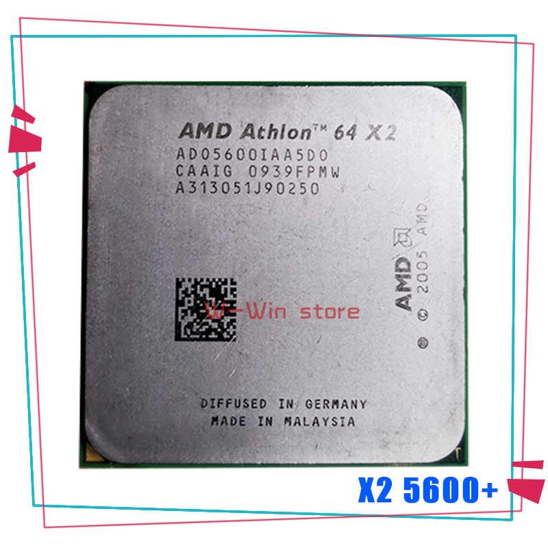 Amd Athlon X2 5600 X2 5600 2 9ghz Ado5600iaa5do Dual Core Cpu Processor Socket Am2 940pin Aliexpress