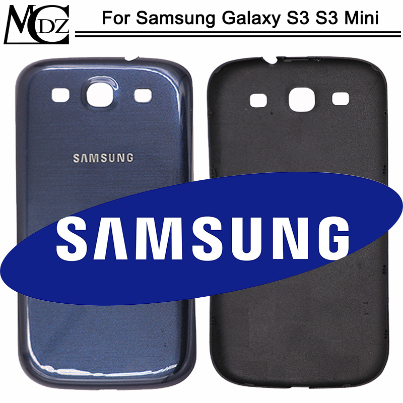 New S3 <font><b>Battery</b></font> Cover For Samsung Galaxy S3 i9300 i9305 / S3 Mini <font><b>I8190</b></font> <font><b>Back</b></font> Cover Rear Plastic Housing Case image