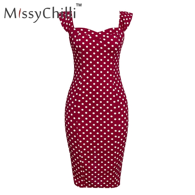 MissyChilli Off shoulder backless dot bodycon red dress Women PLUS SIZE sexy long party dress Summer vintage club dress elegant
