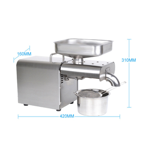 Image 4 - YTK Oil Press Automatic Household FLaxseed Oil Extractor Peanut Oil Press Cold Press Oil Machine 1500W