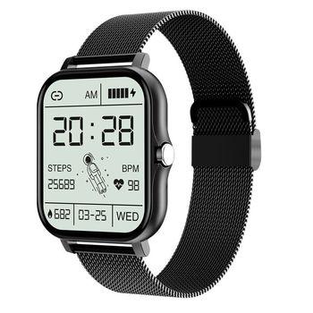2021 New 1.69 Inch Smart Watch Men Women Bluetooth Call Custom Dial Watch For IOS Xiaomi Oppo Huawei PK Smartwatch P8 Plus 1