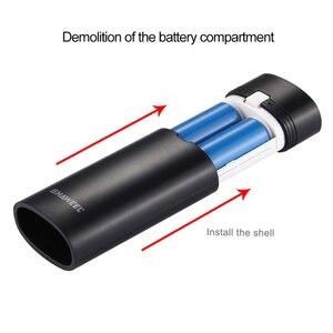 Image 5 - 2x18650 батарея портативный 5600 мач DIY Power Bank Box Shell с USB выходом и индикатор для iPhone для Samsung без аккумулятора 5V