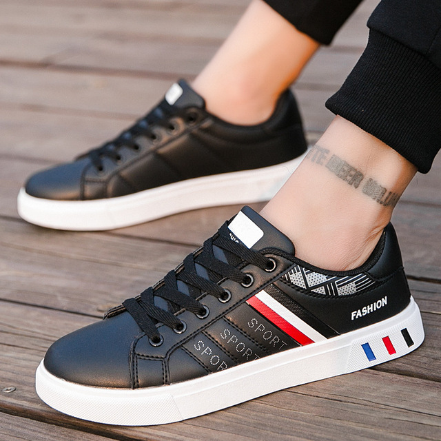 Fashion White Trainer Sneakers 10
