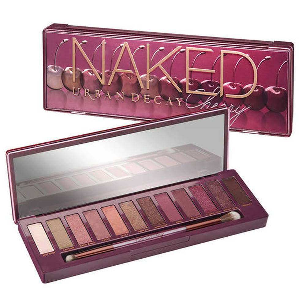 Urban Decay Eyeshadow NAKEDS CHERRY PALETTE Eyeshadow 9 Colors Matte Eyeshadow Palette Glitter Eye Shadow Makeup Nude Makeup Set