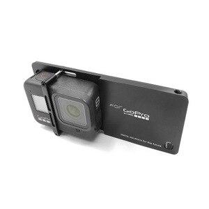 Image 5 - Gopro hero 8 용 핸드 헬드 짐벌 안정기 마운트 플레이트 DJI 용 스포츠 액션 카메라 OSMO Moblie Smooth 4 Q2 Snoppa Atom Isteady