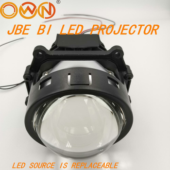 DLAND OWN JBE 3 BI LED PROJECTOR LENS KIT WITH BULB REPLACEABLE BILED 35W POWER 5000K WITH HELLA3 MOUNING N EXCELLENT LOW BEAM optima premium biled lens professional series