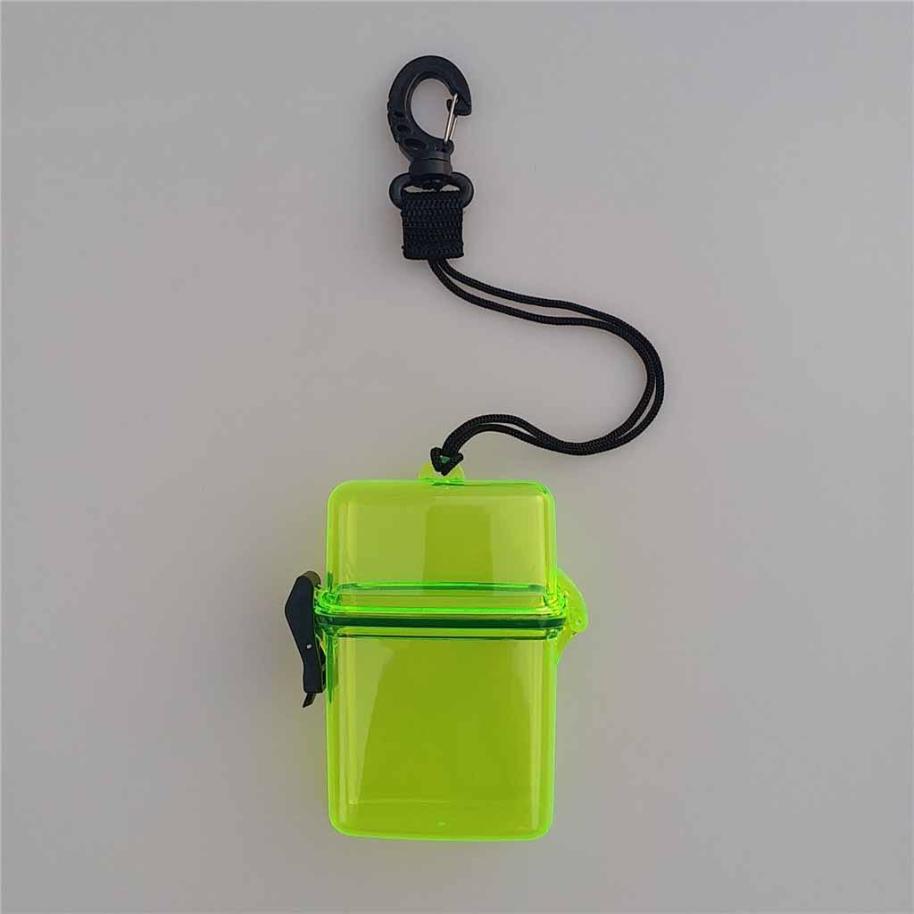 ID Karten 2Pcs Surf Scuba Diving wasserdichte Dry Box Fall für Geld License