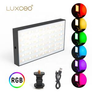 Photographic-Lighting 360 with 1/4'' Screw-Hole P03 2500K-6500K Led-Video New-Product