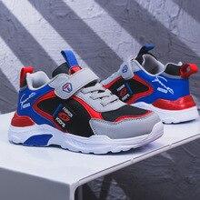 Zapatos para niños, zapatos deportivos para niñas, primavera 2020, nuevo estilo de Velcro, moda de cuero, zapatillas deportivas para niños, superventas