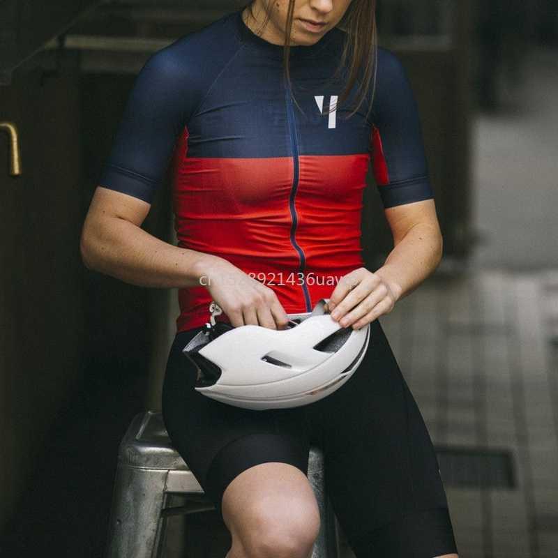 Team NICHTIG Kontrast farbe radfahren jersey für frauen 2019 4 stil drucken MTB kleidung camicia da bicicletta kurzarm Sport tragen