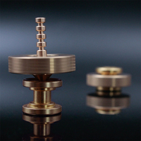 Mini Spinner giratorio de doble juego, antiestrés juguete para el ocio, creativo, de cobre, para TDAH