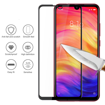 100Pcs Full Glue Full Coverage Tempered Glass For Redmi Note 8 Pro Note 7 Note 6 Note 5A Note 4 4X Note 7S Screen Protector Film фото