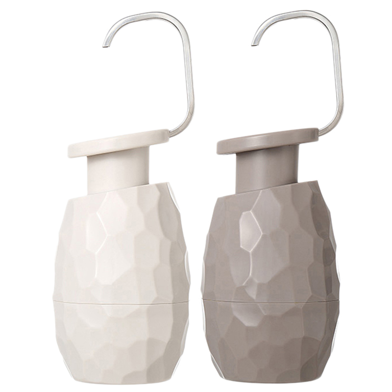 2 Pcs 400Ml Creative One-Hand Soap Dispenser Facial Cleanser Shower Gel Bottle Environmentally Friendly For Home Hotel Bathroom,