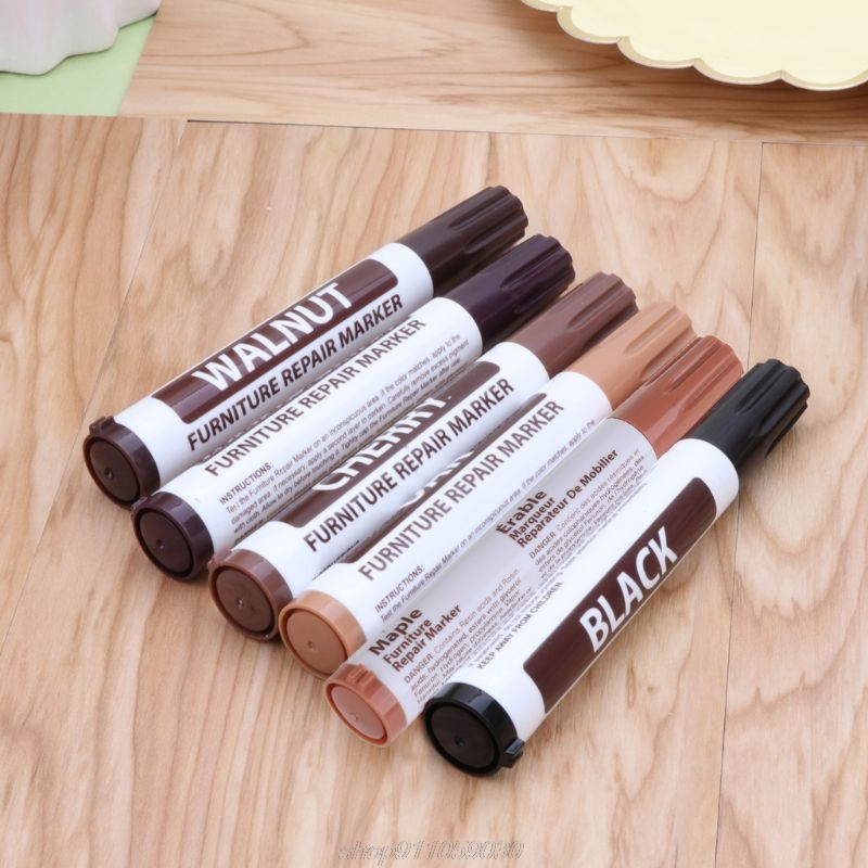Furniture Repair Wood Cabinet Floor Touch Up Markers Scratch Filler Remover A22 21 Dropship