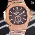 Luxe Merk Nieuwe Automatische Mechanische Mannen Horloge Saffier Daydate Transparant Rose Gold Maanfase Horloges Zwart Multifunctionele