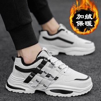 2019 Men Winter Warm Shoes Male Casual Lace Up Comfortable Shoes Sapato Tenis Masculino Adulto Buty Scarpe Uomo Krasovki Sneaker