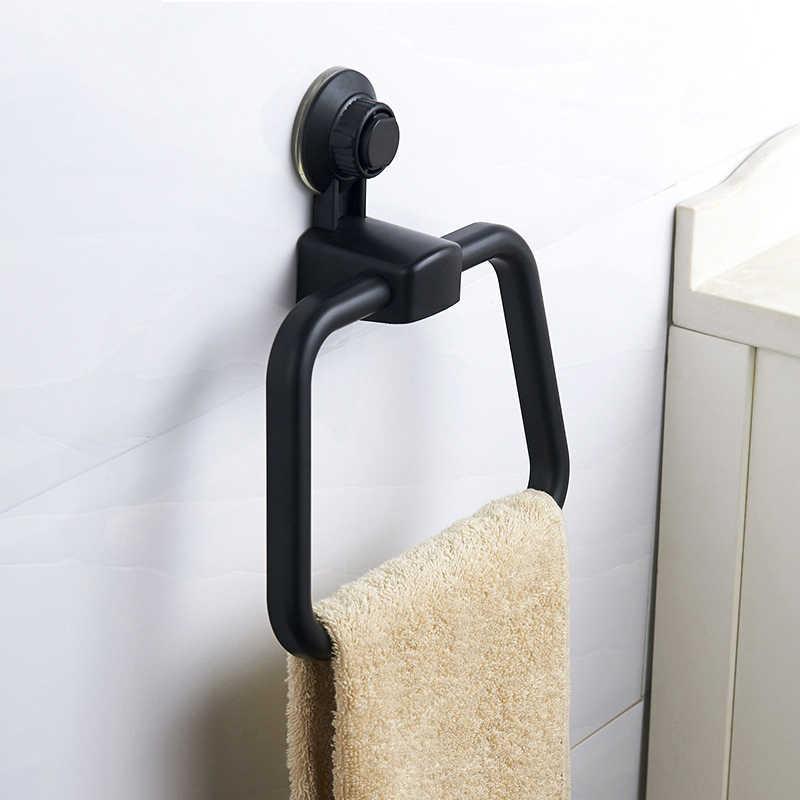 Вакуумное прочное всасывающее полотенце для чашек, кольцо для кухонных дырокол, без следа, крючок для полотенец, бытовые контейнеры, полка, вешалка для полотенец в ванную 66CY